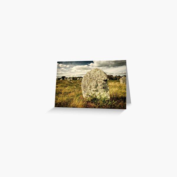 Spirit in Stone, Carnac 2012 Greeting Card