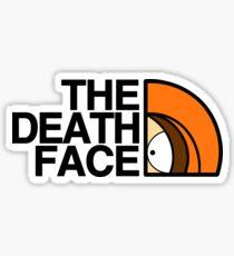 Pegatina La cara de la muerte