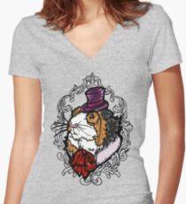 Lord Guinea pig T-shirt col V femme