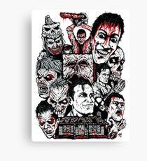 Evil Dead Trilogy Canvas Print