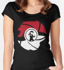 From Pallet Town With Love Women's Fitted Scoop T-Shirt