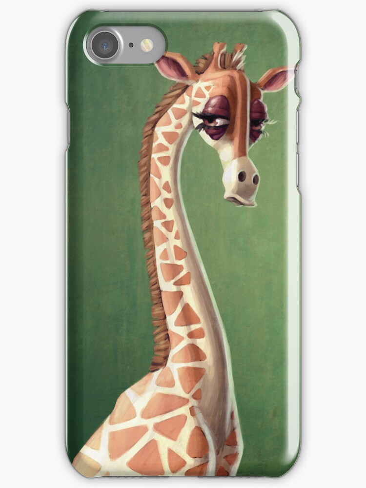 Dramatic Giraffe by Kate Moon