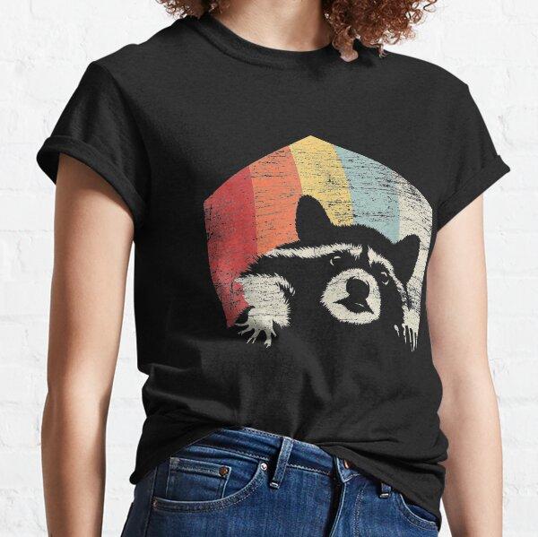 Racoon Vintage Men Classic T-Shirt