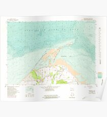 USGS Topo Map Washington State WA Dungeness 240904 1956 24000 Poster