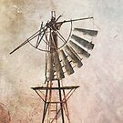 Windmill iPad case by pennyswork