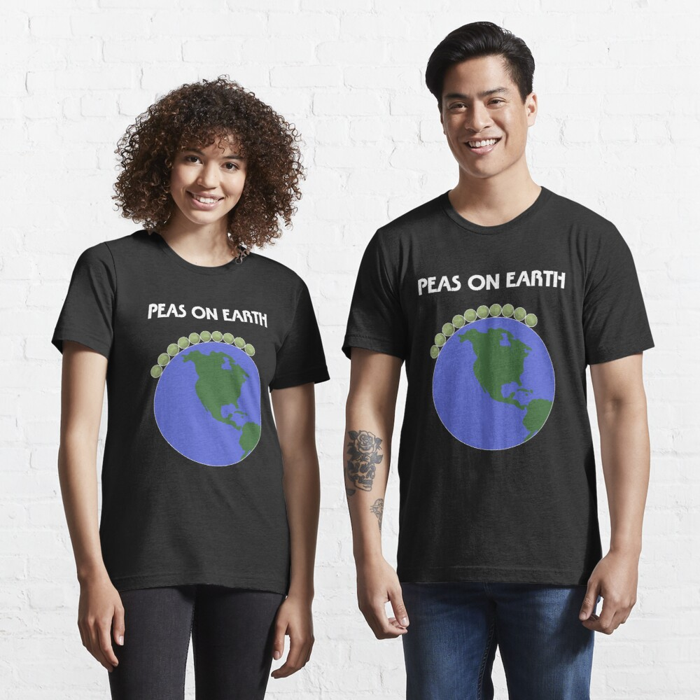 Peas On Earth Essential T-Shirt