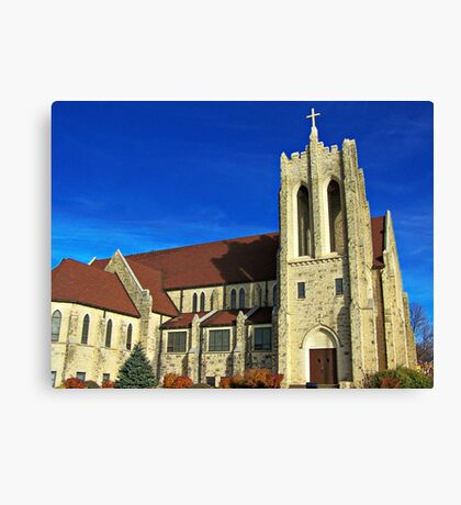 East Side Lutheran Canvas Print