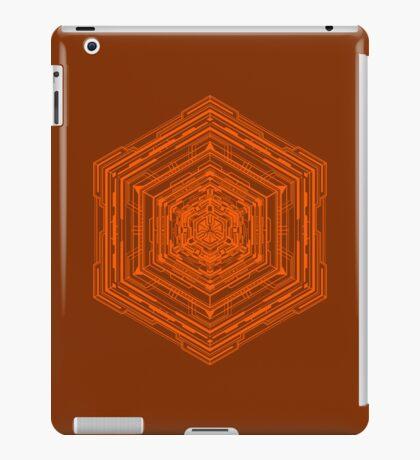 Anatomy of a Cube (Orange) iPad Case/Skin