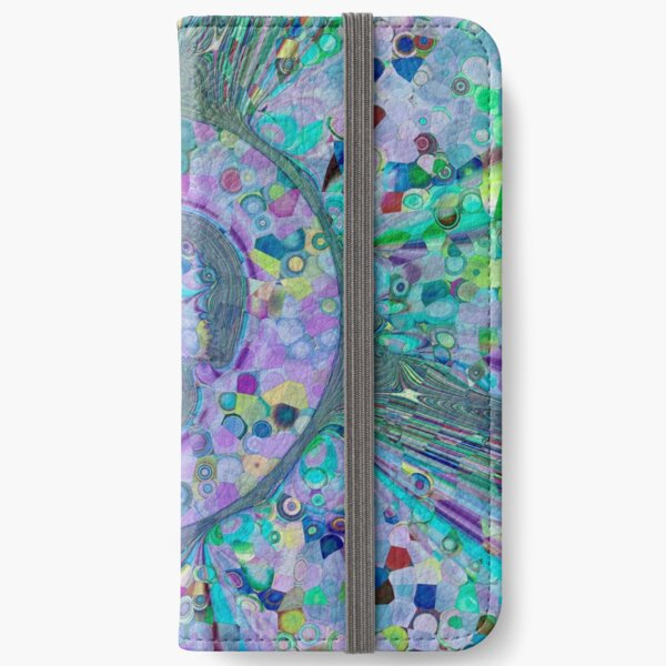 Fractal Storms 3 iPhone Wallet