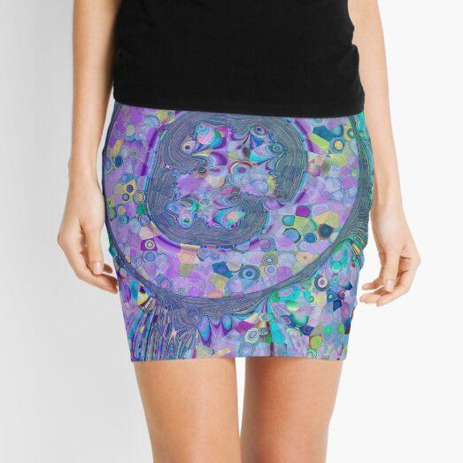 Fractal Storms 3 Mini Skirt