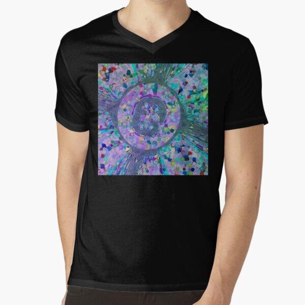 Fractal Storms 3 V-Neck T-Shirt