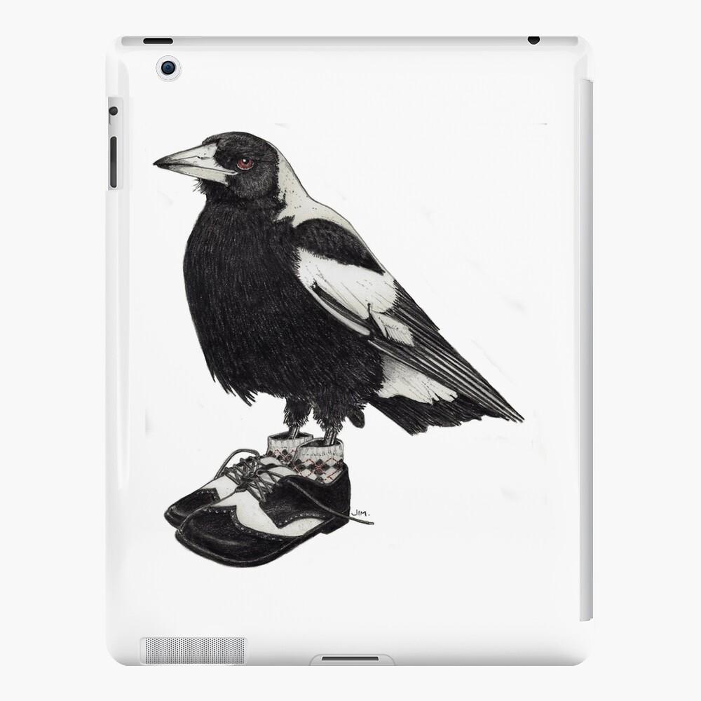 Magpie in wingtips iPad Case & Skin