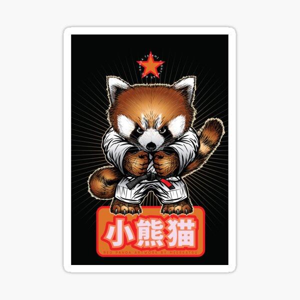 Red panda 1 Sticker