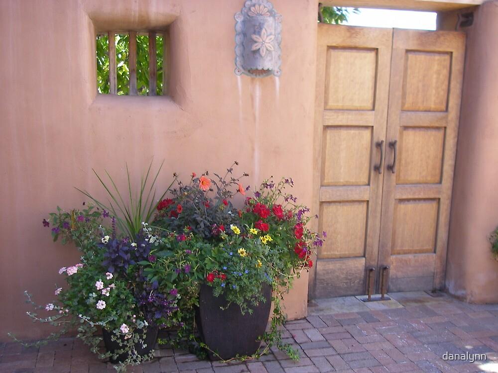 Santa Fe patio by danalynn