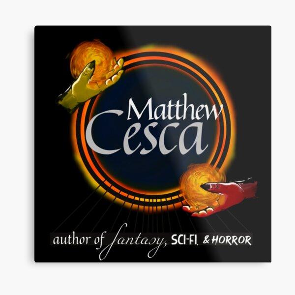Matthew Cesca Author Logo Metal Print