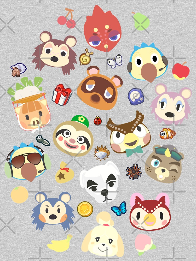 animal crossing cute villagers by Mkawaii