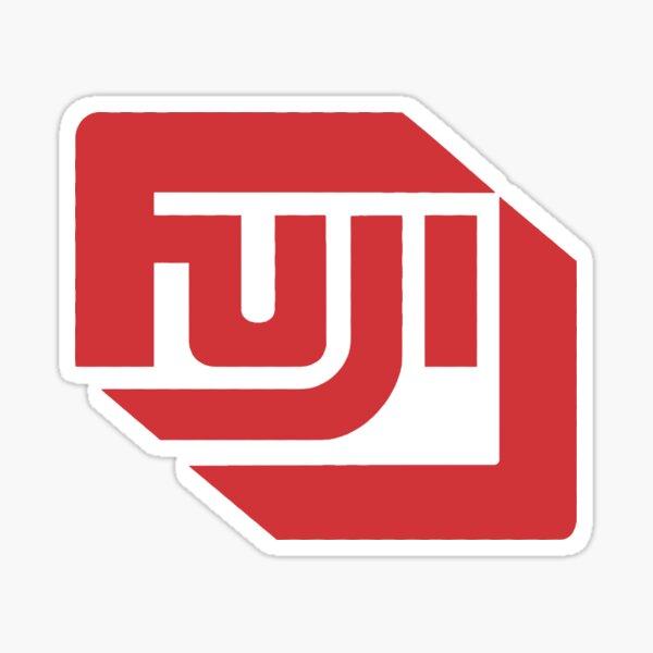 fuji logo Sticker