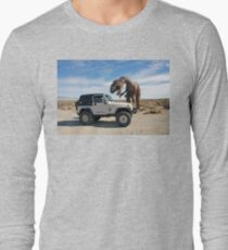 Be Careful - You Never Know What You Might Find In The Desert Long Sleeve T-Shirt