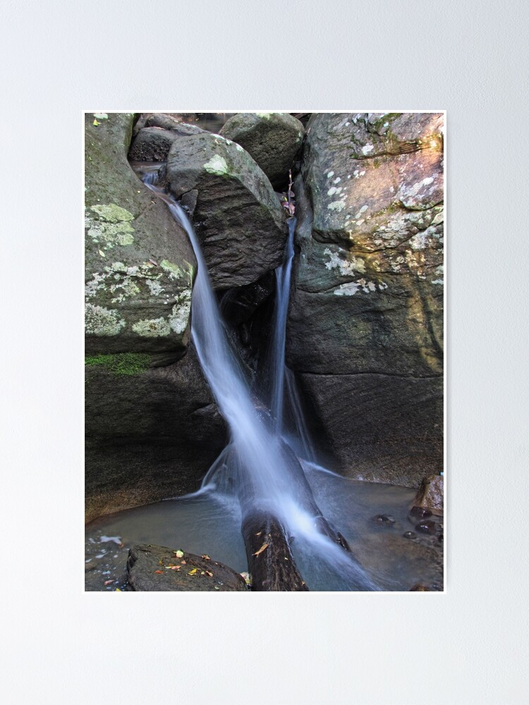 Alternate view of Rainforest Waterfall Poster