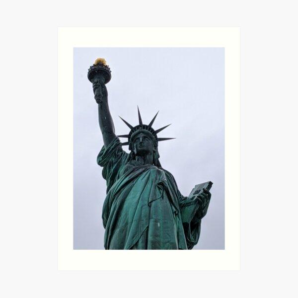 Liberty Woman - Statue of Liberty NY Art Print