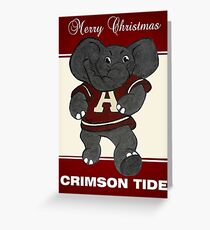 Roll Tide Christmas Greeting Card