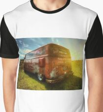 VW van and sunrays Graphic T-Shirt