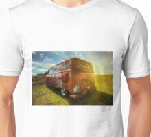VW van and sunrays Unisex T-Shirt