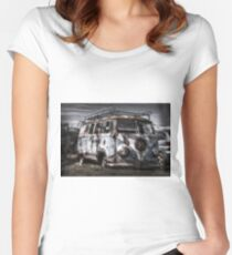 The VW Rat Women's Fitted Scoop T-Shirt