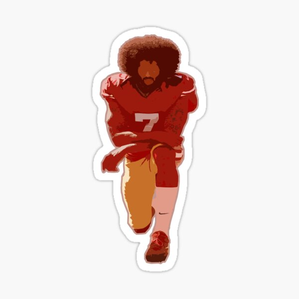 Im With Kap #IMWITHKAP Take a Knee Vinyl Decal Wall Laptop Bumper Sticker 5