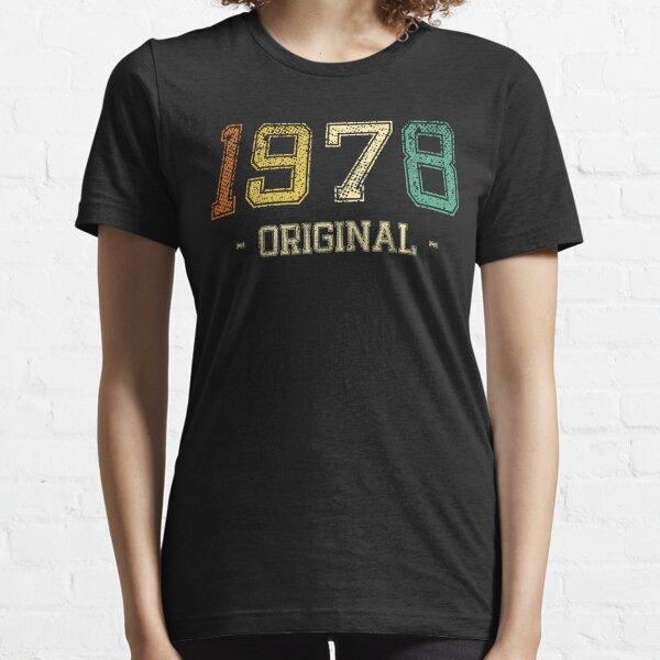 Original Born in 1978 Vintage Retro Essential T-Shirt