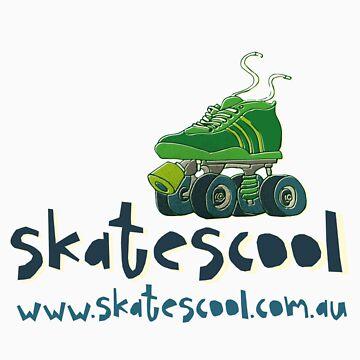 Skatescool Tee - Coloured by Skatescool