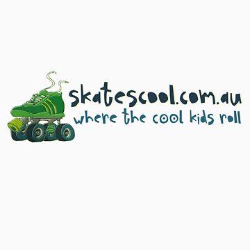 Skatescool Colour Logo - Vert Back by Skatescool