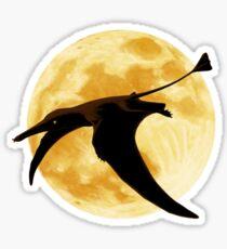 Rhamphorhynchus Moon Sticker