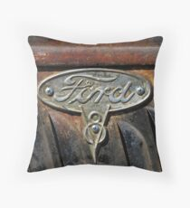 Ford Badge Wall Art Throw Pillow