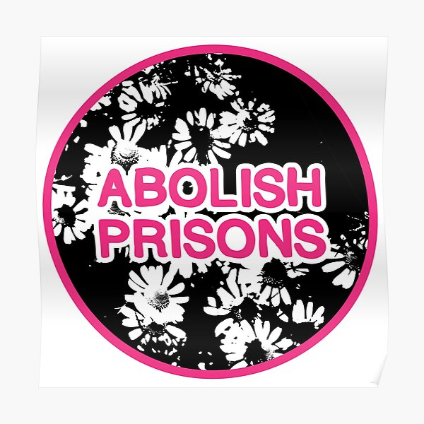abolish prisons | disarm defund dismantle Poster