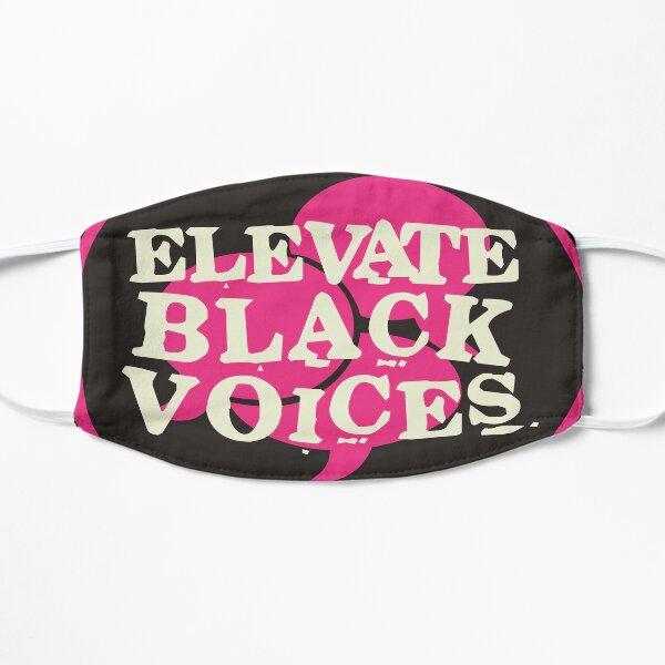 elevate black voices | black lives matter Mask