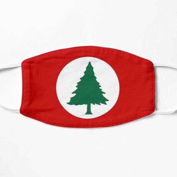 New England Round Flag Flat Mask