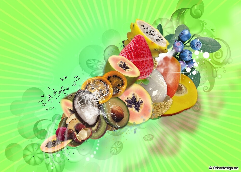 Magical Fruits by oriondesign