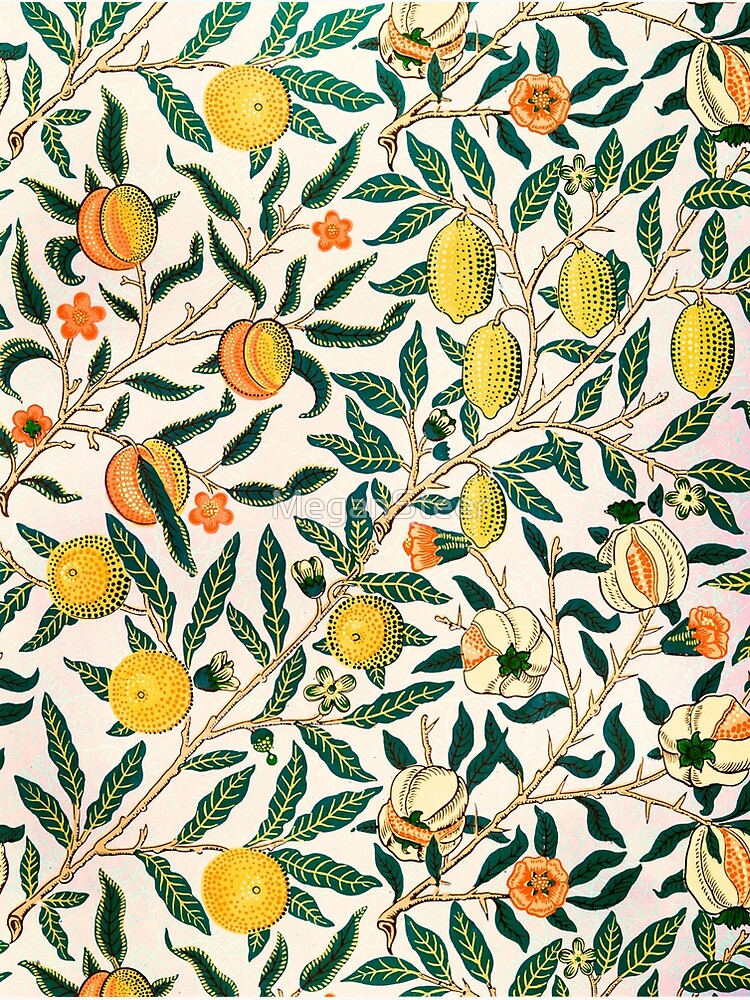 Fruit or Pomegranate by William Morris, 1865-66 by MeganSteer