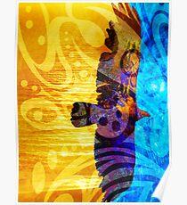 Between Worlds Tribal Poster