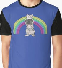 LOMO KITTY!  Graphic T-Shirt