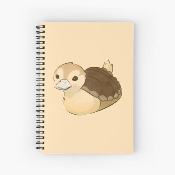 Avatar Turtle Duck Spiral Notebook
