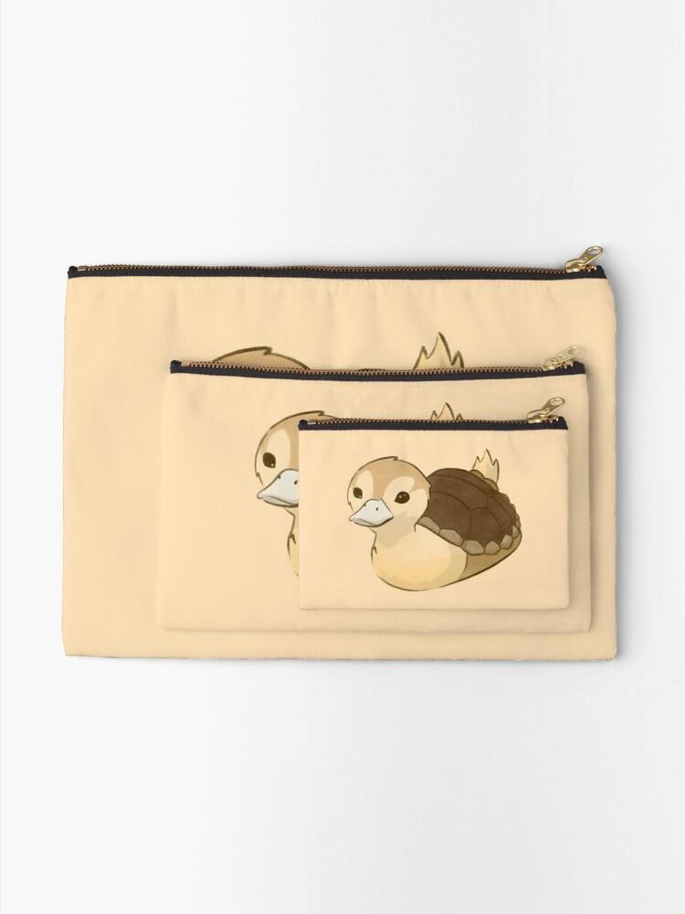 Alternate view of Avatar Turtle Duck Zipper Pouch