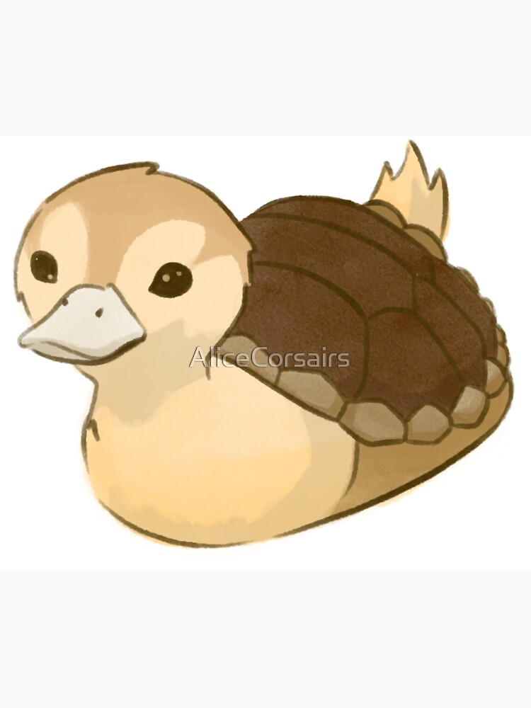 Avatar Turtle Duck by AliceCorsairs