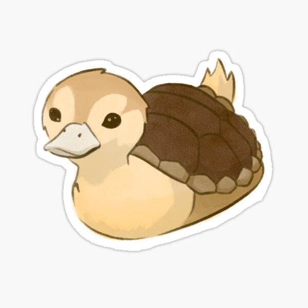 Avatar Turtle Duck Sticker