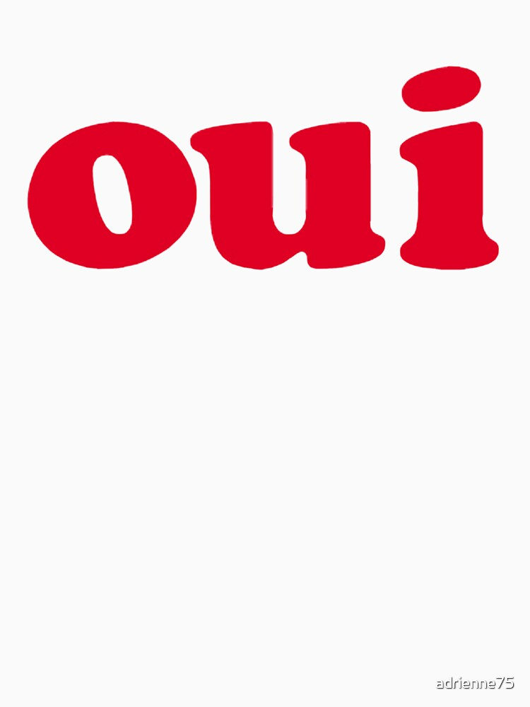 oui - red | Women's T-Shirt