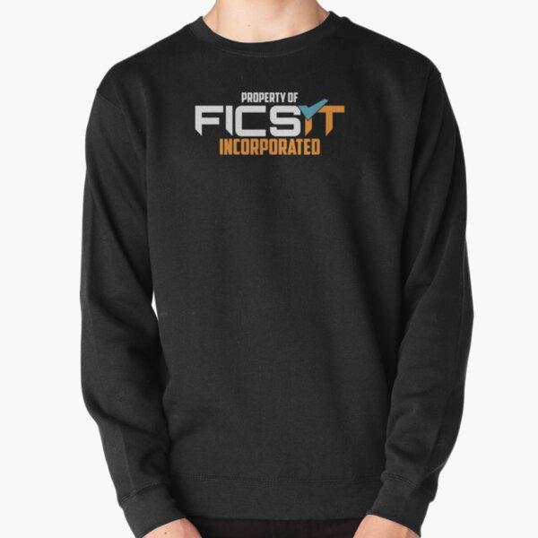 Property of FICSIT Satisfactory Emblem Pullover Sweatshirt