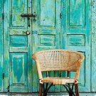 old door and chair  by naphotos