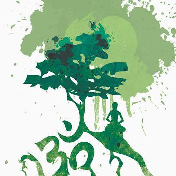 Aum Tree Design by Jimix