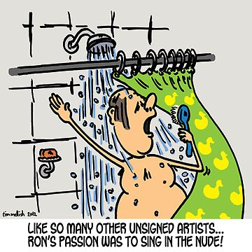 Singing in the shower by bigbusy